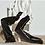 Thumbnail: Silver Lining Silk Black Trousers