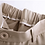 Thumbnail: Pantalon coupe droite beige riche à la cheville