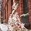 Thumbnail: Floral Print Half Sleeve Maxi Dress