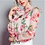 Thumbnail: Pink Roses Sweetie Bow Silk Blouse