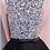 Thumbnail: الترتر الأسود والفضي فستان الطبقات A خط