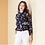 Thumbnail: Sweetheart Bow Day Dream Print Blouse