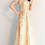 Thumbnail: فستان من الشمبانيا والترتر الذهبي