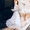 Thumbnail: فستان ماكسي بطبعة ورود كحلي وسماوي