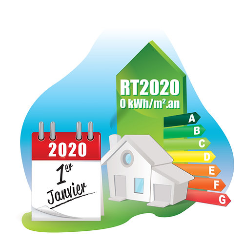 Etude thermique RT2020 - BEPOS - PASSIVE