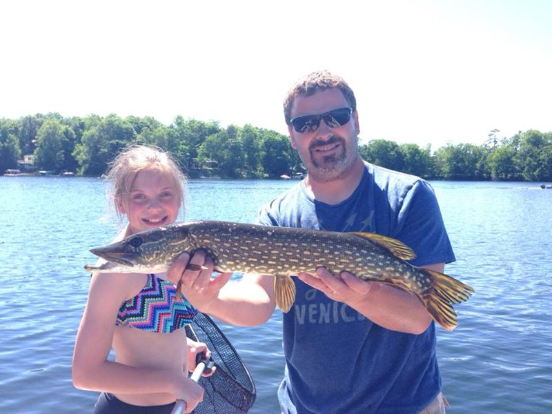 Northern Pike Fishtrap Lake