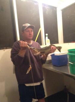 Walleye Fishtrap Lake