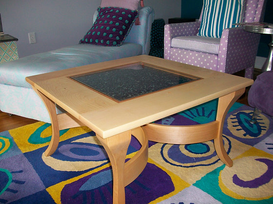 MUSSEL SHELL COFFEE TABLE