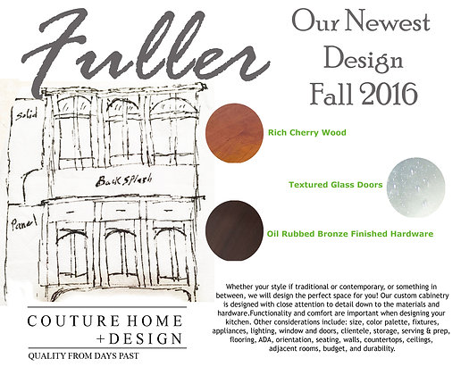 FULLER KITCHEN COLLECTION