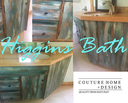 HIGGINS BATH VANITY