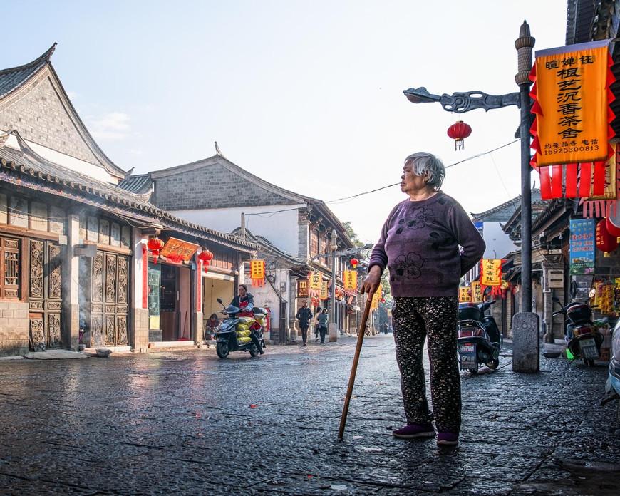 Sylvester Wong in Yuanyang Township, China
