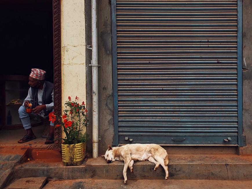 Dikesh Maharjan in Nepal