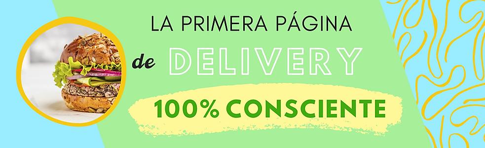 La primer pagina de delivery de comida 100% consciente