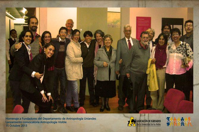 Homenaje a Fundadores del Departamento de Antropología de la Universidad de los Andes