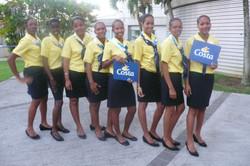 Des élèves de la MFR accueillent les croisiéristes - Article du 12 décembre 2011