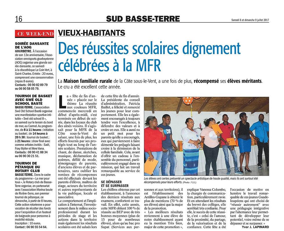 France-Antilles_170708_-_Des_Réussites_
