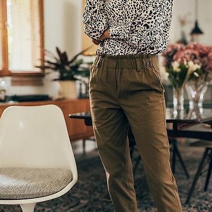 Pantalon PAVEL kaki Yuka Paris