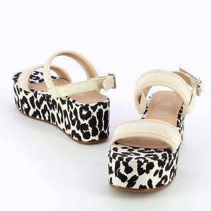 Sandales plateforme Vanessa Wu Beige