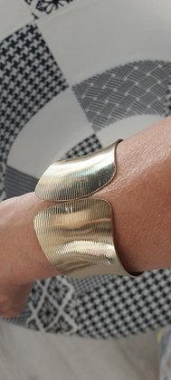 Bracelet Manchon doré taille unique