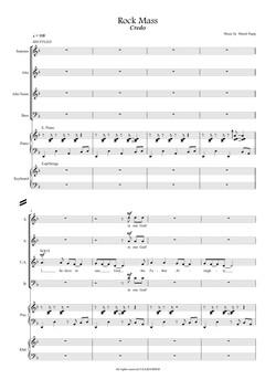 Credo - Full Score-01