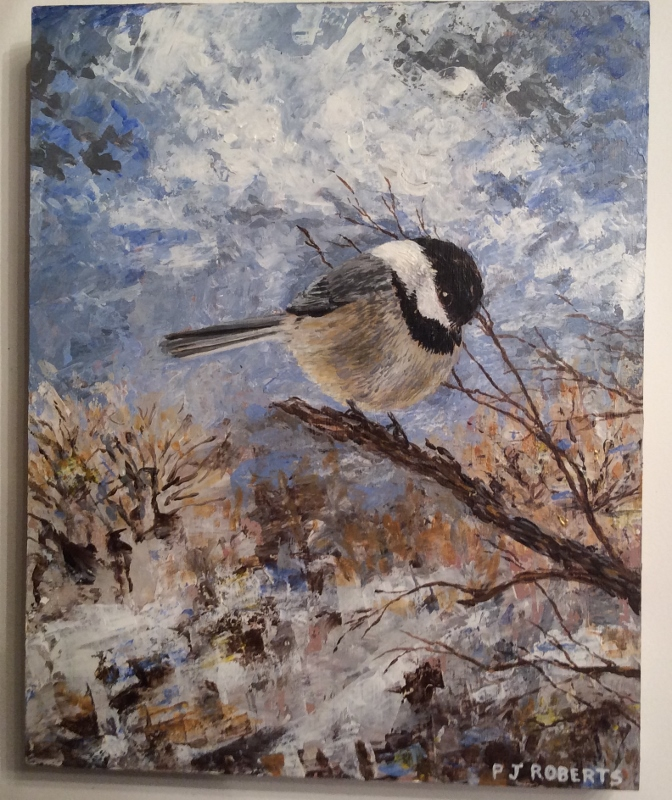 Late Winter Chickadee