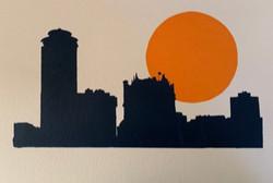 Winnipeg Skyline at Sunset