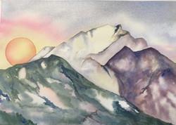 Sun Over Mountain Meadows