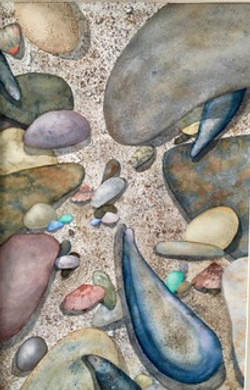 Mussels in the Sand