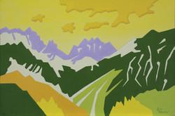 Alpine Abstraction No. 1