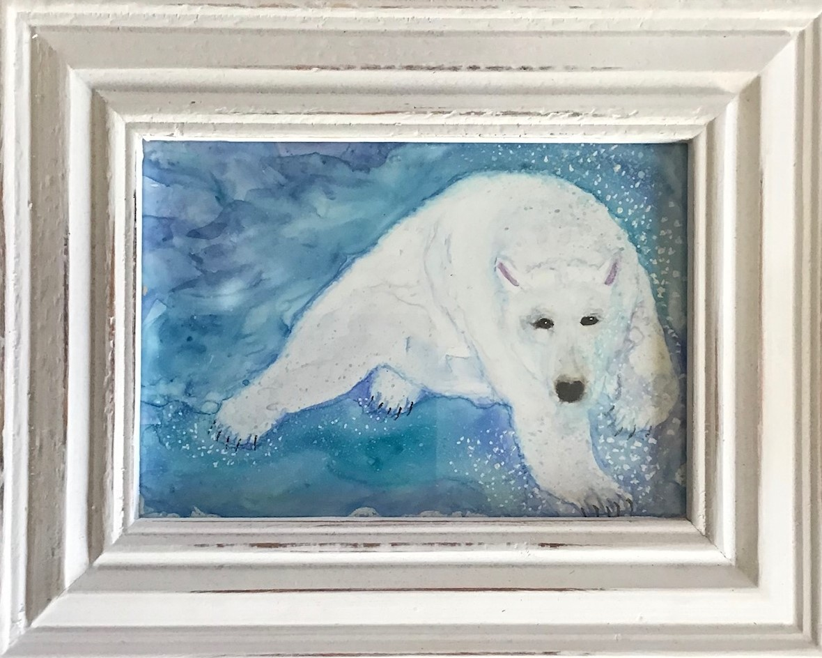 Swimming Polar Bear 3