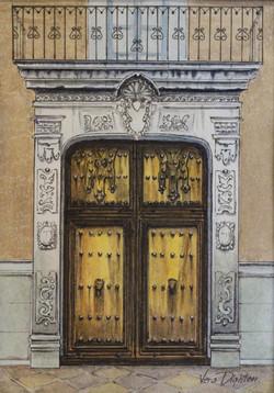Door in Querétaro