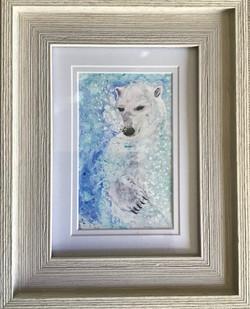 Swimming Polar Bear 1