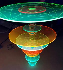 levitating disk