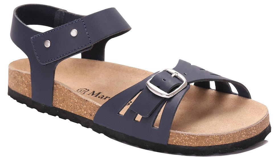 Sandales en cuir Delia
