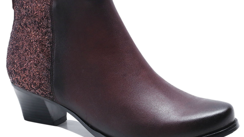 Bottines en cuir Anastasia
