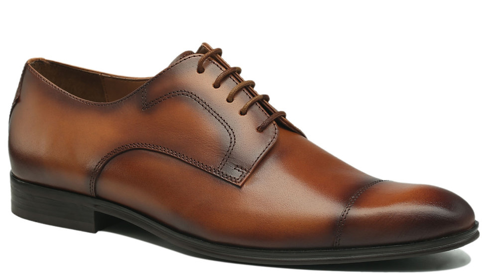 Derbies en cuir Angello