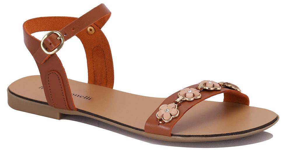 Sandales en cuir Candida