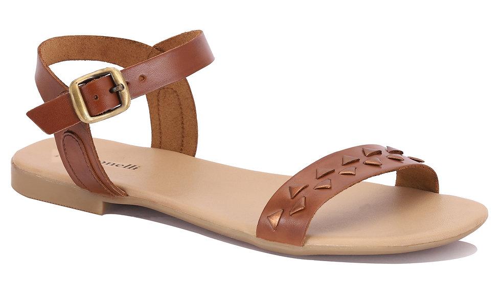 Sandales en cuir Dina