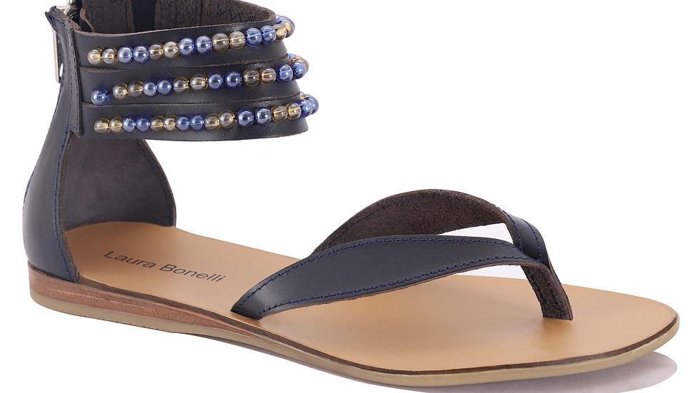 Sandales en cuir Elena