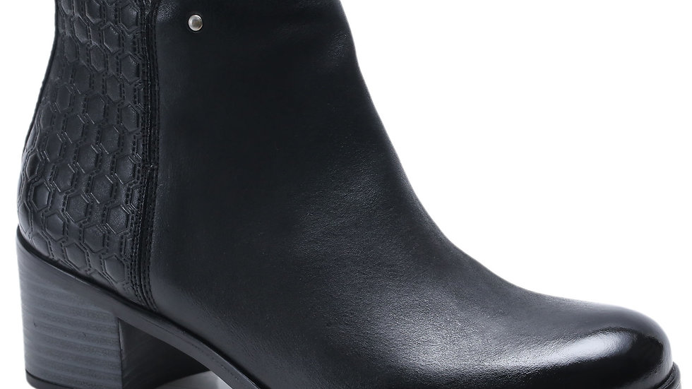 Bottines en cuir Aurelia
