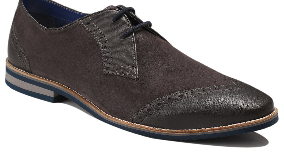 Derbies en cuir Lorenzi