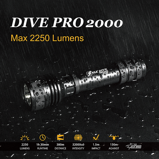 ELF-DIVE PRO2000