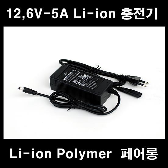12,6V-5A충전