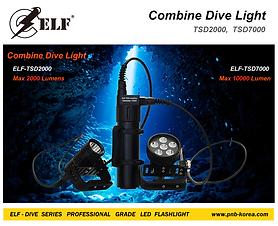 ELF-Combine Dive Light