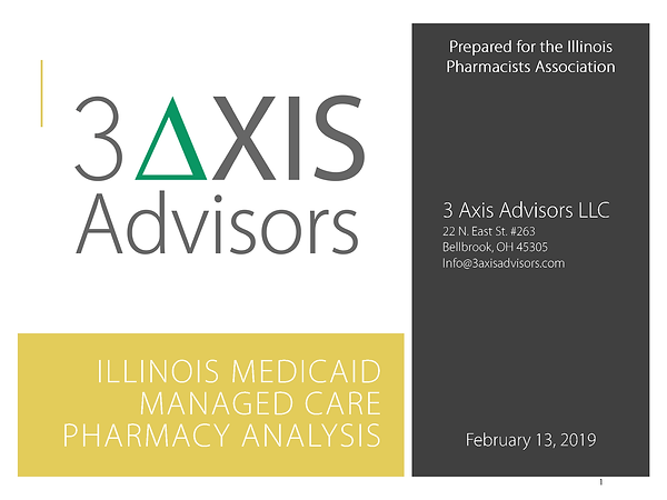 3AA Illinois Medicaid managed care analy