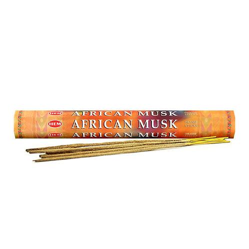 African Musk Incense Sticks
