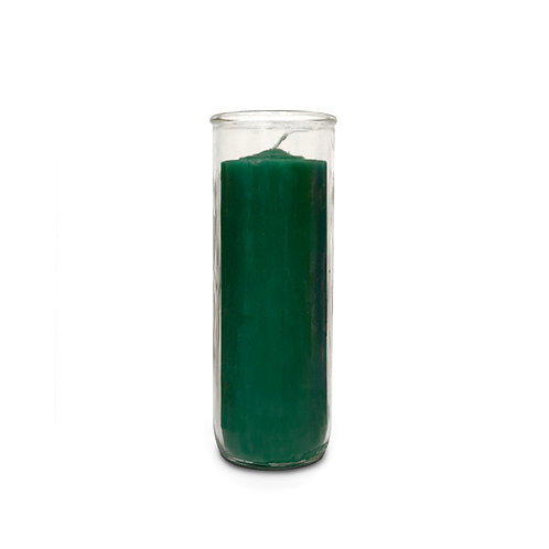 Green Pullout Candle