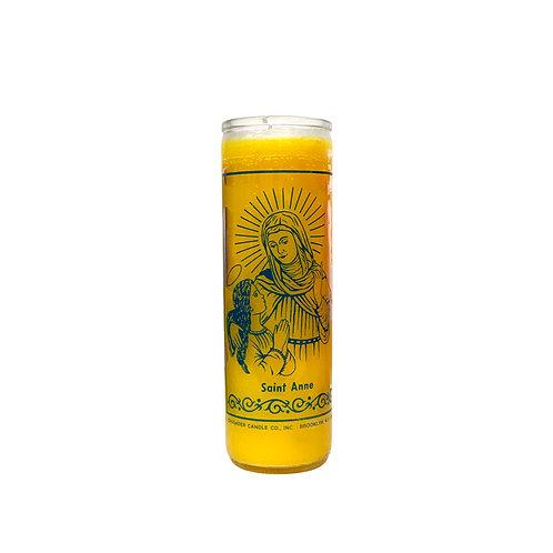 Saint Anne Candle