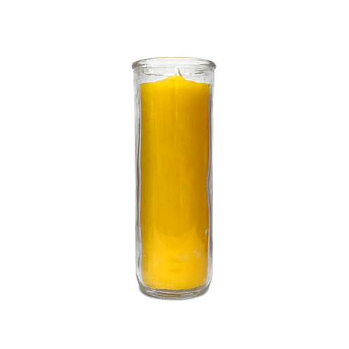 Yellow Pullout Candle
