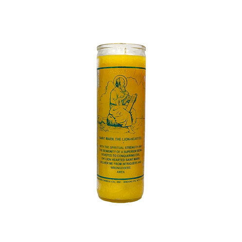 Saint Mark the Lion-Hearted Candle